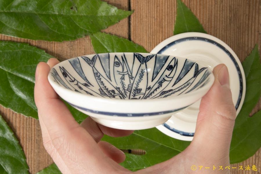 画像3: ほりゆめこ 染付豆皿