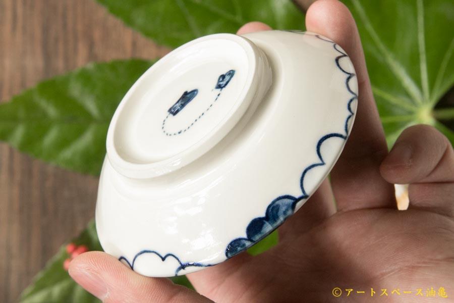 画像4: ほりゆめこ 染付 せんたく雲柄豆皿