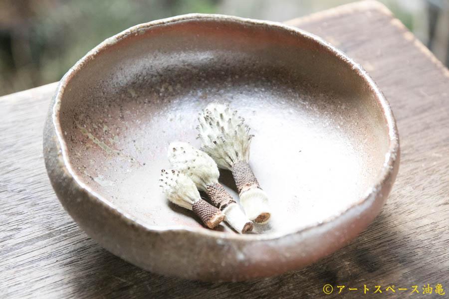 画像1: 細川敬弘 備前 平鉢