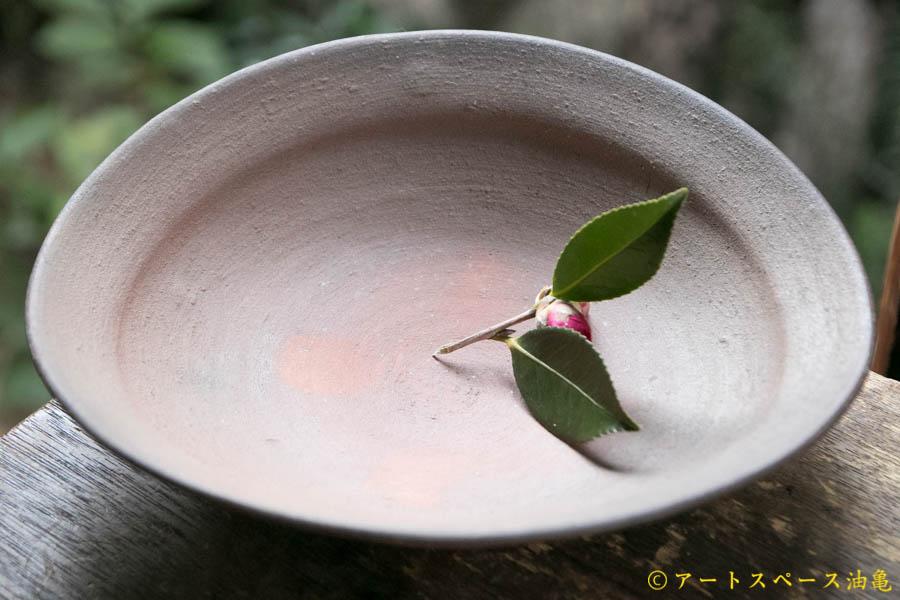 画像1: 細川敬弘 備前 楕円鉢
