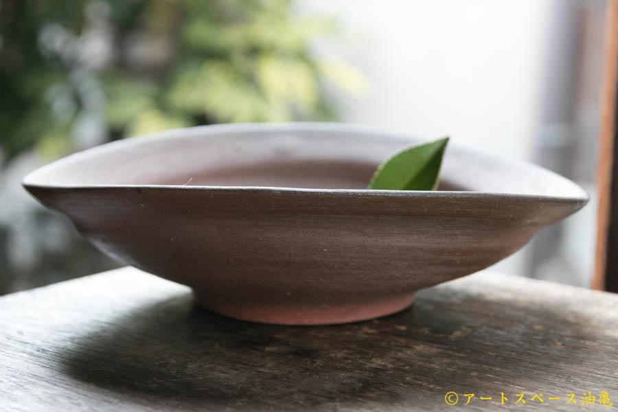 画像2: 細川敬弘 備前 楕円鉢