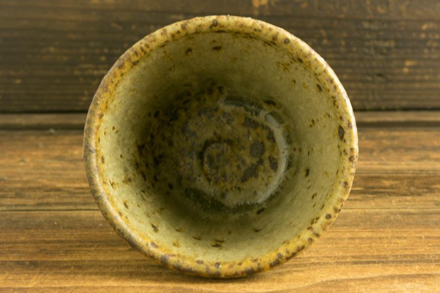 画像4: 加地学「化粧 灰釉 猪口」