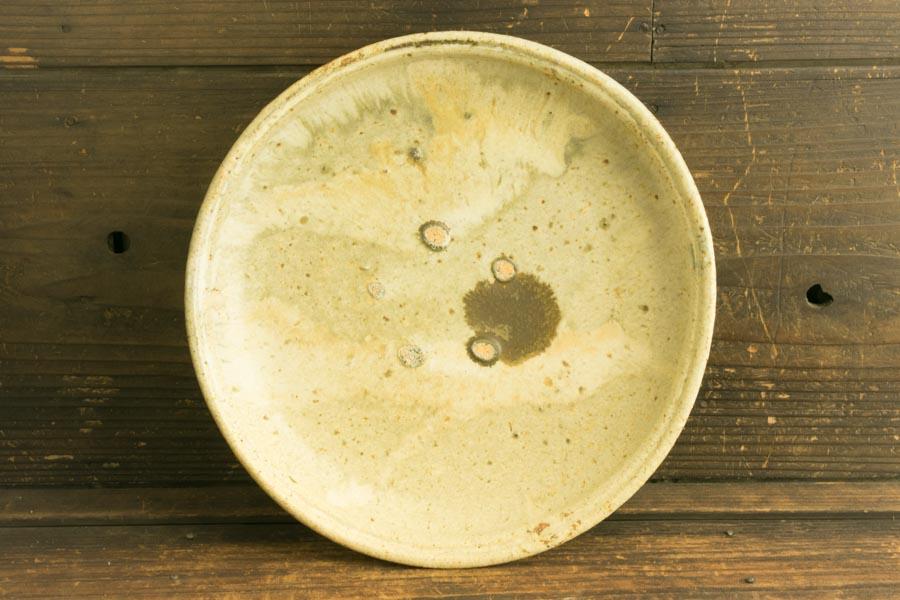 画像4: 加地学「化粧灰釉銅釉 8寸深鉢」