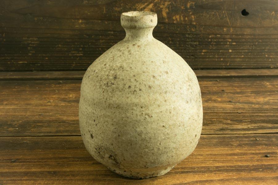 画像2: 加地学「化粧灰釉 花生」