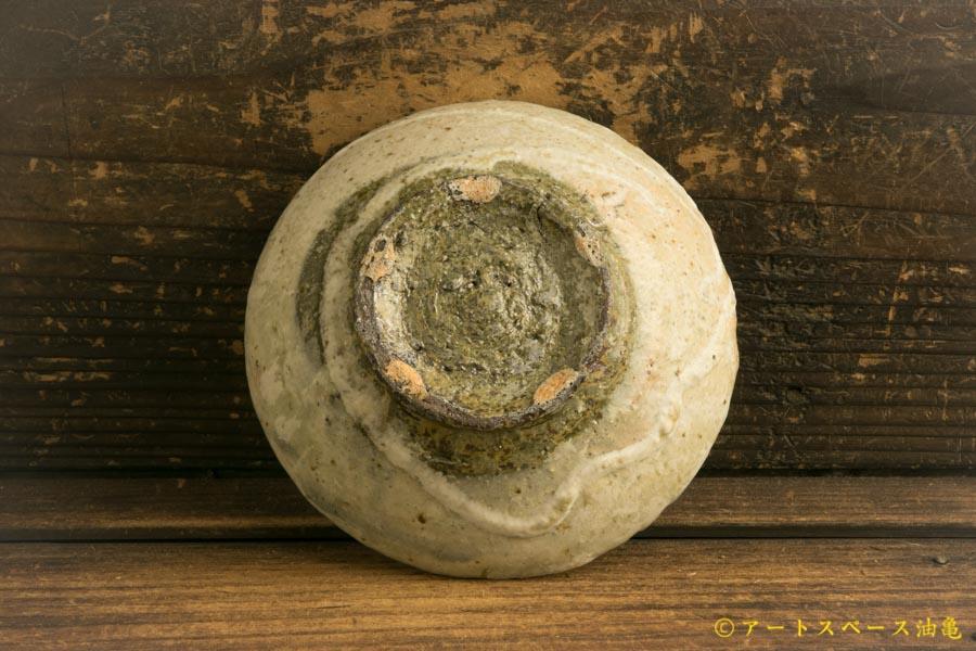 画像5: 加地学「白化粧灰釉 平鉢」