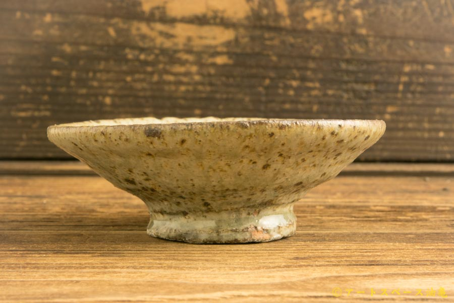 画像3: 加地学「化粧灰釉 平鉢」