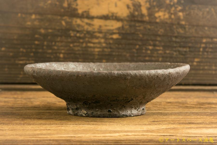 画像4: 加地学「黒化粧 4寸皿」