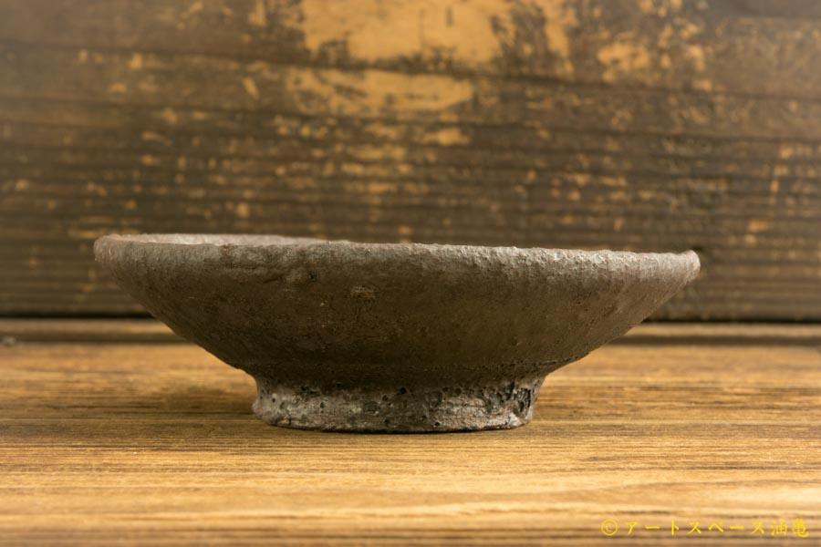 画像3: 加地学「黒化粧 4寸皿」