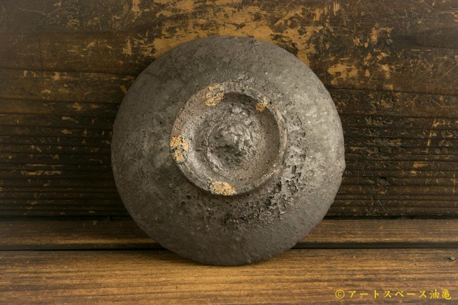画像5: 加地学「黒化粧 4寸皿」