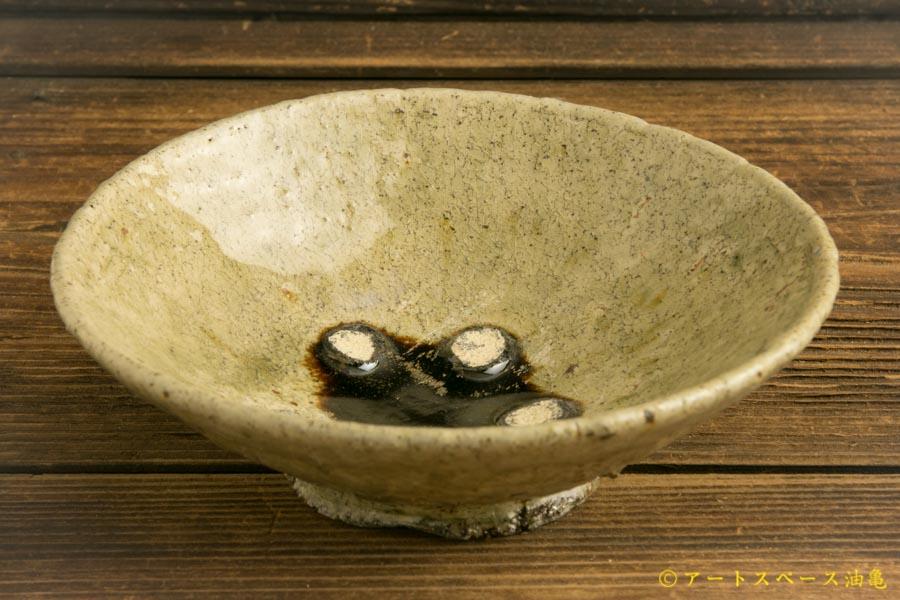 画像1: 加地学「灰釉 5寸鉢」