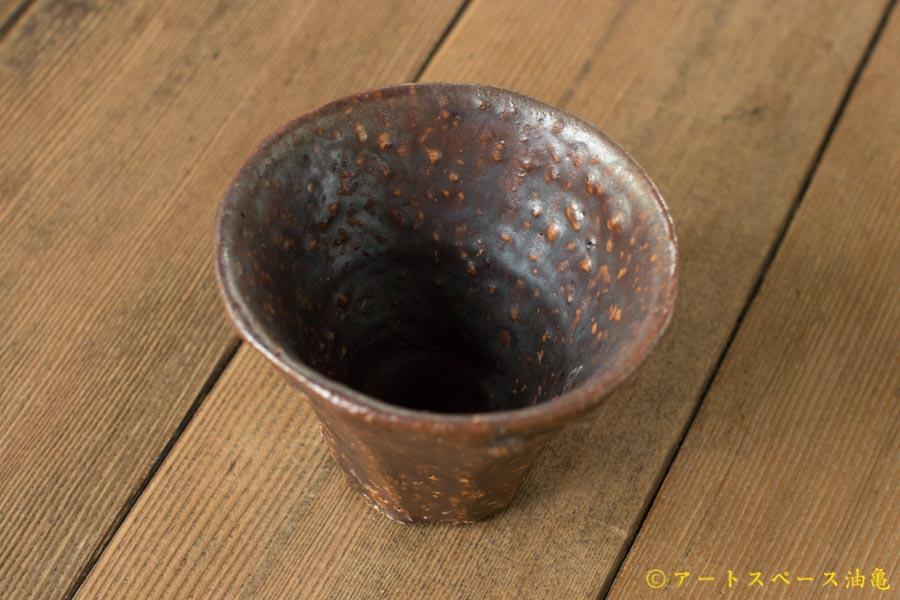 画像3: 加地学 鉄釉 面取り灰