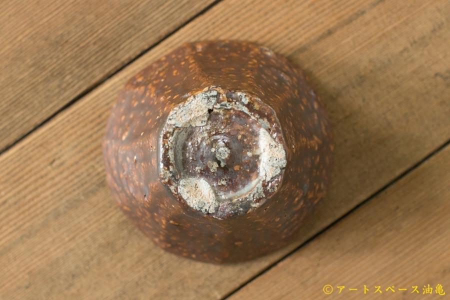 画像5: 加地学 鉄釉 面取り灰