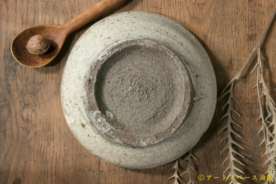 画像4: 加地学 白化粧 銅釉 灰釉 鉢