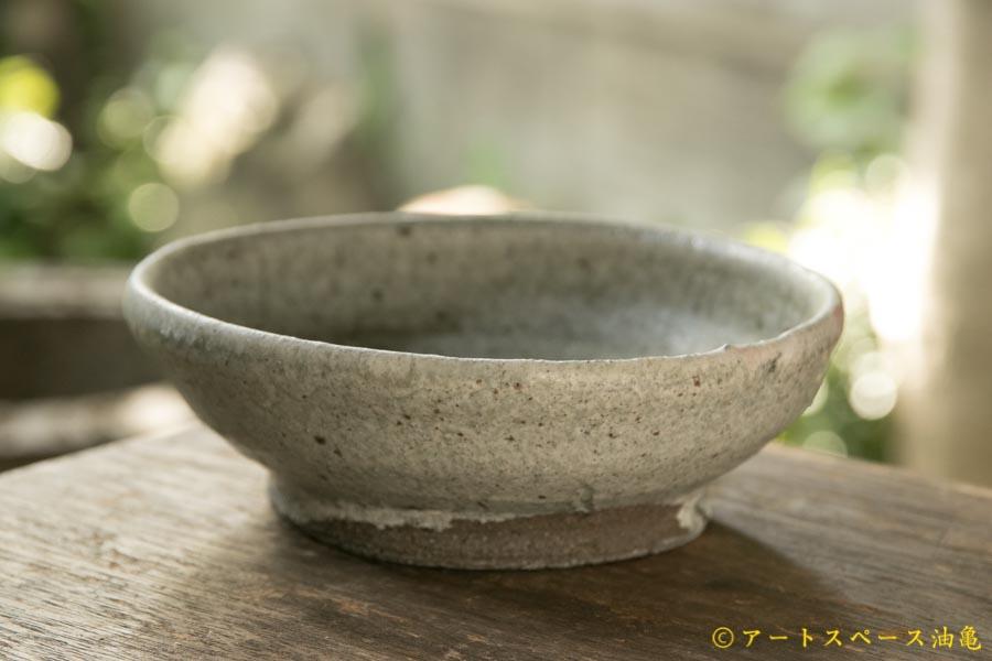 画像3: 加地学 白化粧 銅釉 灰釉 鉢