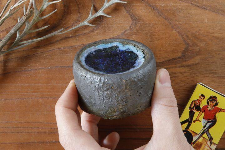 画像4: 加地学「鉄釉 鉢(ガラス)」
