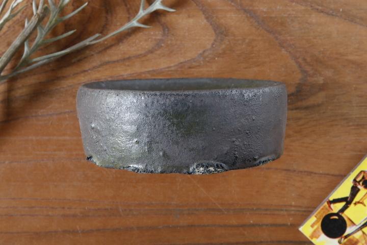 画像2: 加地学「鉄釉 鉢(ガラス)」