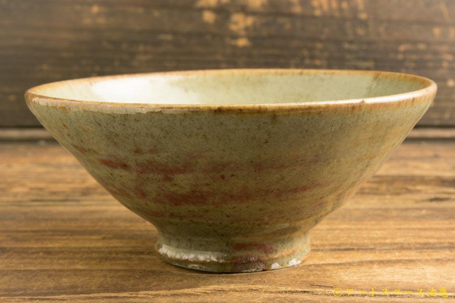 画像2: 加地学「化粧 銅釉 碗」