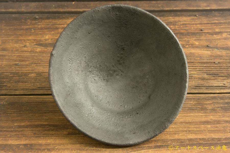 画像3: 加地学「黒化粧 碗」