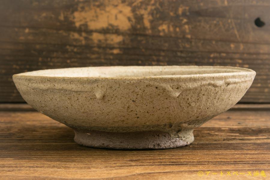 画像2: 加地学「白化粧銅釉 鉢」