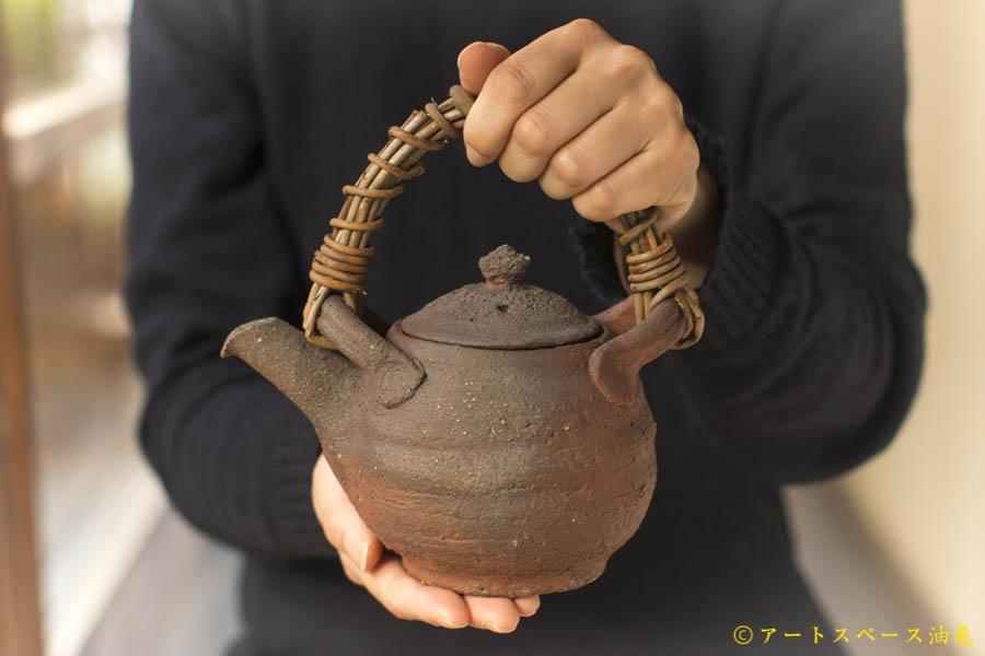 画像1: 加地学「南蛮 土瓶」