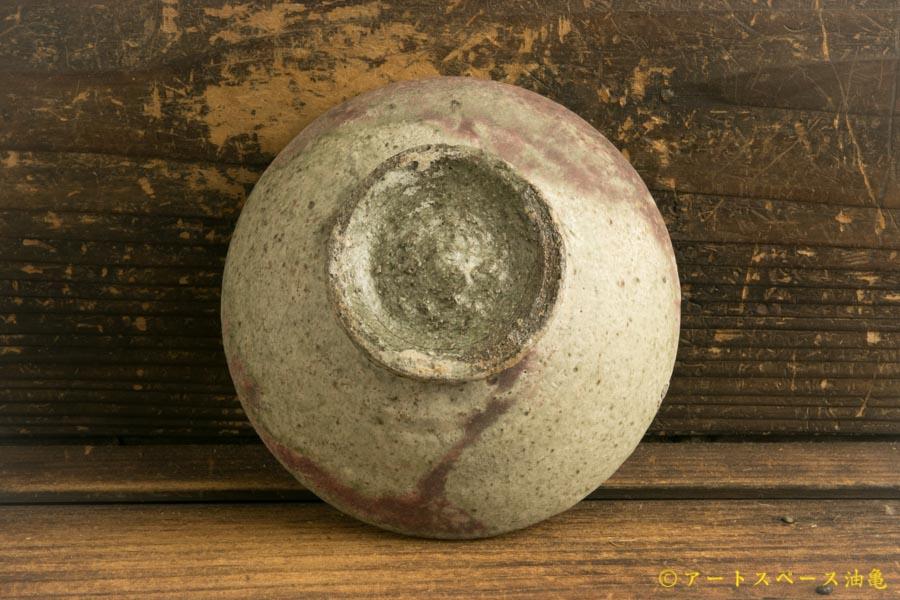 画像5: 加地学「白化粧銅釉 碗」