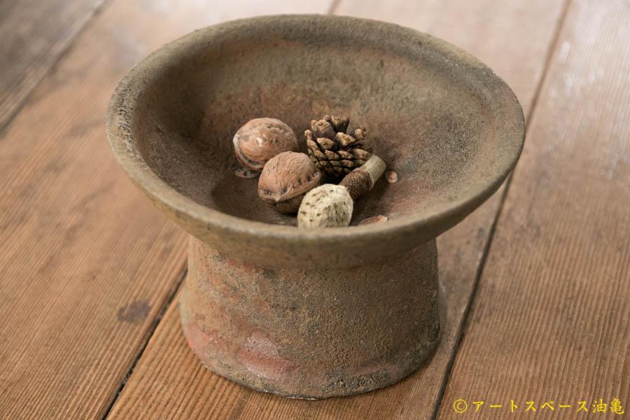 画像1: 加地学 南蛮 台鉢