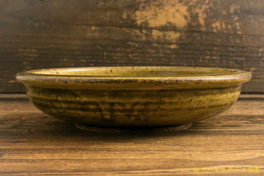 画像4: 叶谷真一郎「黄土灰6.5寸石皿」