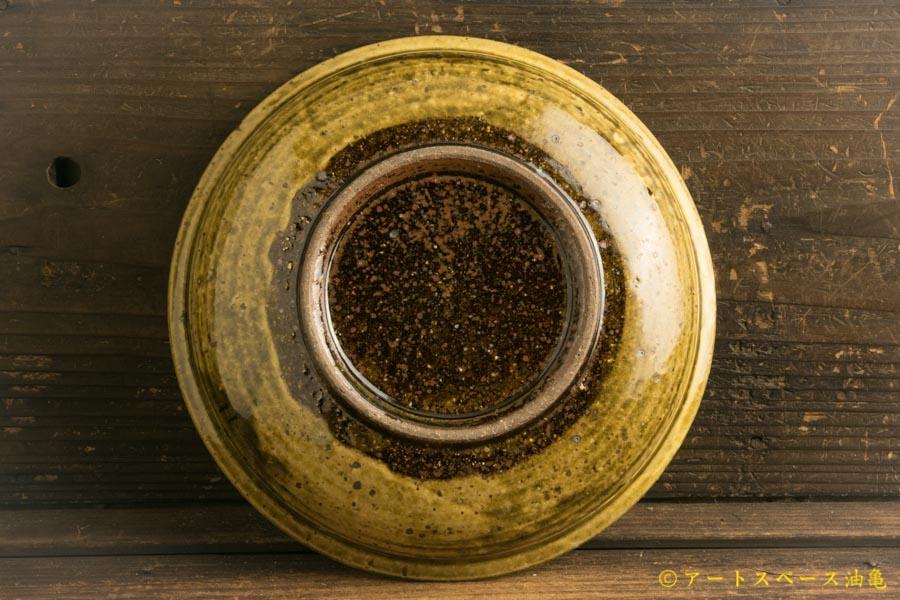 画像5: 叶谷真一郎「黄土灰6.5寸石皿」