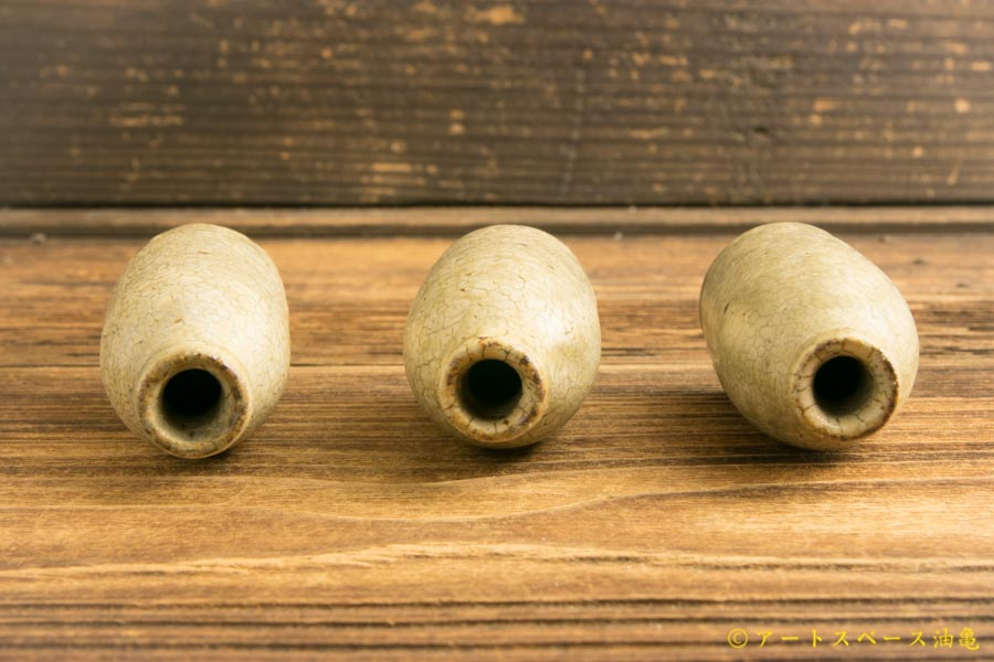 画像4: 叶谷真一郎 灰粉引 ミニ花器