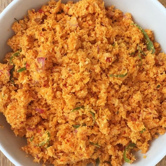 画像3: カラピンチャ「スリランカ スパイスセット/ポルサンボーラ(ココナッツのふりかけ)用」/4人分/レシピ付き