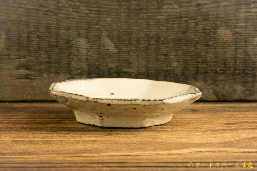 画像2: 加藤祥孝「粉引 八角豆皿」