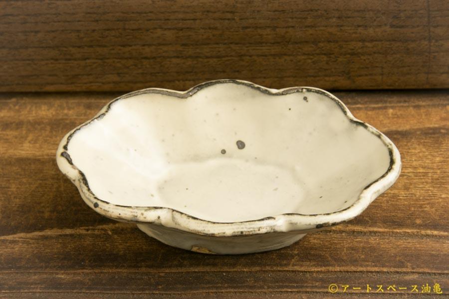 画像3: 加藤祥孝「粉引 楕円輪花豆鉢」