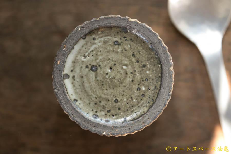 画像4: 加藤祥孝 粉引 しのぎカトラリースタンド大