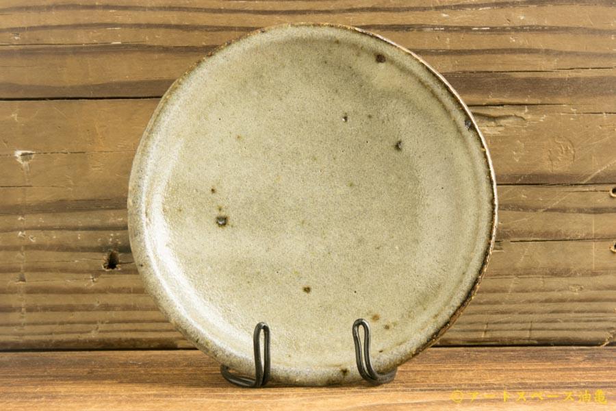 画像1: 工藤和彦「渚滑釉 4寸皿」