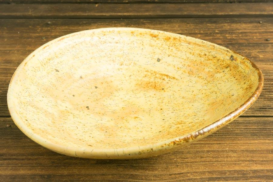 画像4: 工藤和彦「黃粉引 たわみ中鉢」