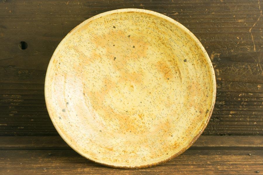 画像2: 工藤和彦「黃粉引 たわみ中鉢」