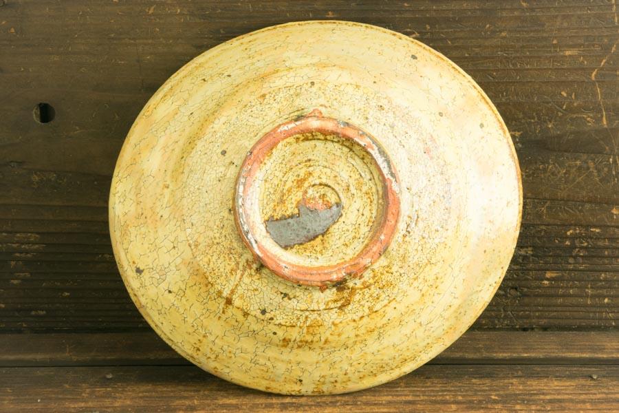 画像3: 工藤和彦「黃粉引 たわみ中鉢」