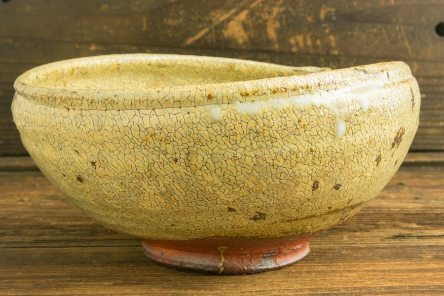 画像2: 工藤和彦「黃粉引7寸片口鉢」
