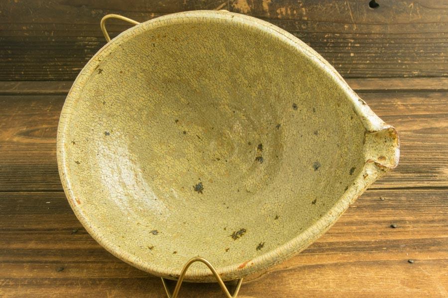 画像3: 工藤和彦「黃粉引7寸片口鉢」