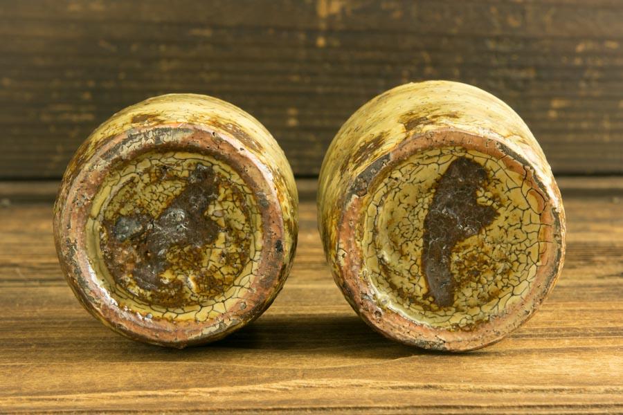 画像5: 工藤和彦 黃粉引筒湯呑 小