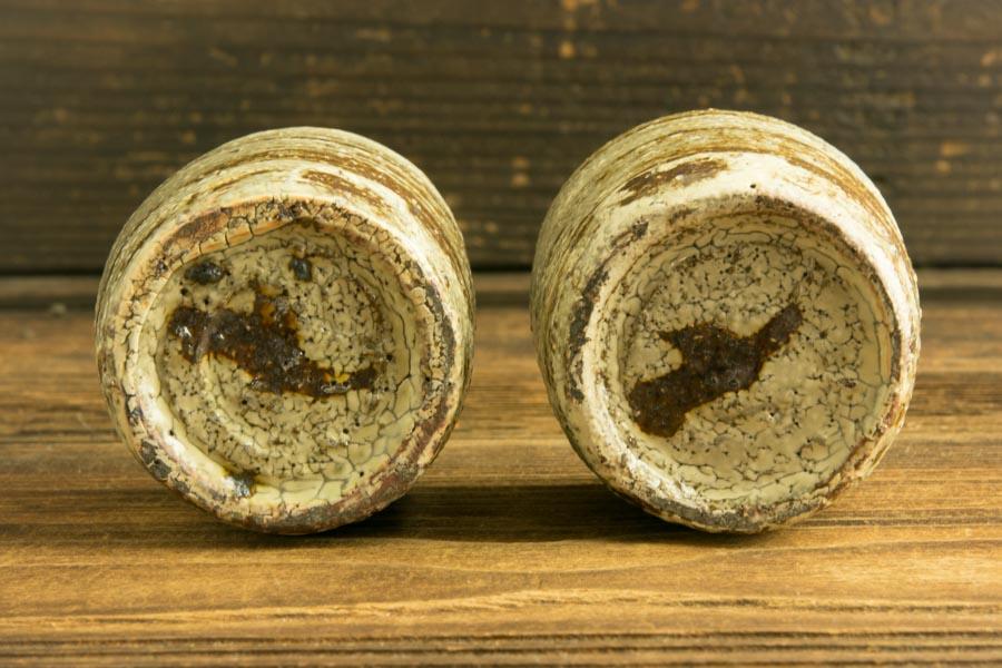 画像5: 工藤和彦「白樺刷毛目筒湯呑(小)」