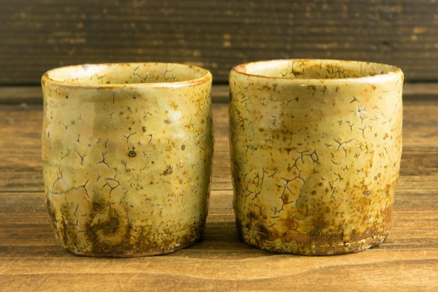 画像2: 工藤和彦「黃粉引筒湯呑(小)」