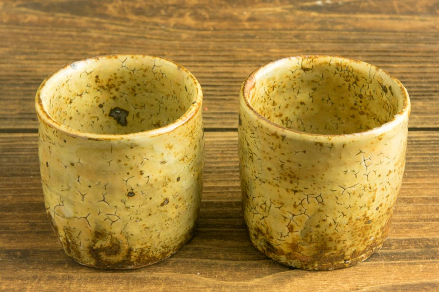 画像3: 工藤和彦「黃粉引筒湯呑(小)」