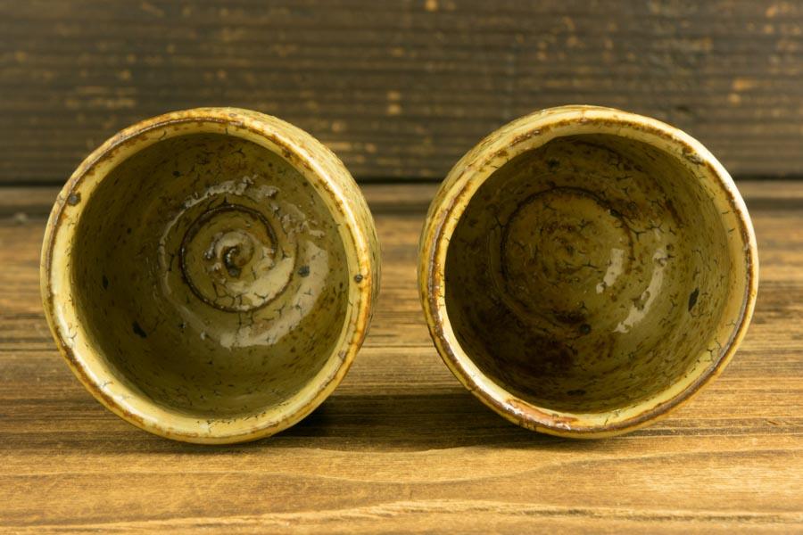 画像4: 工藤和彦「黃粉引筒湯呑(小)」
