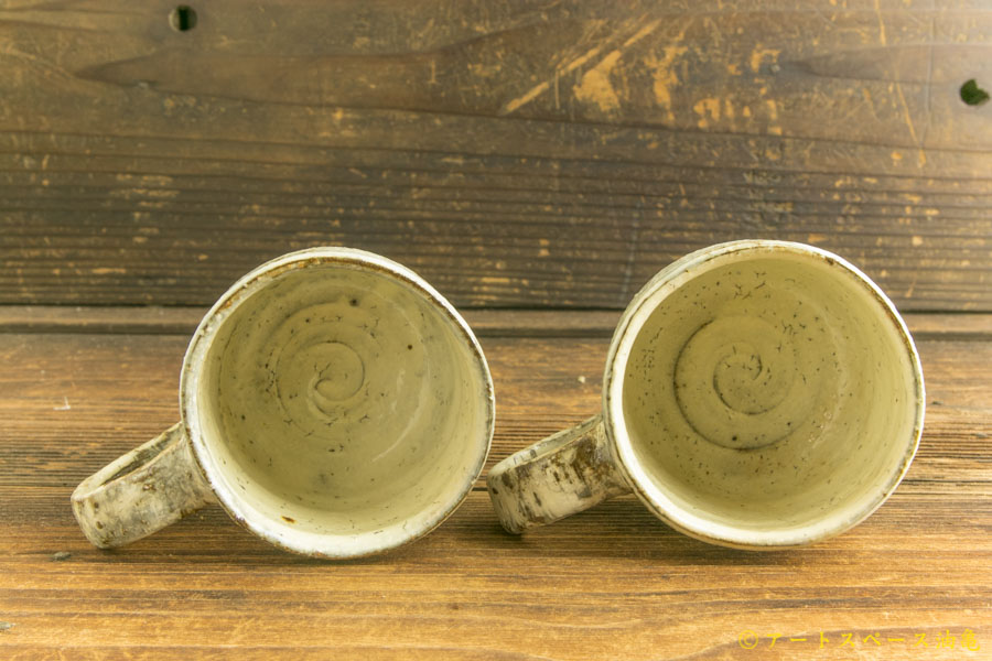 画像3: 工藤和彦「白樺刷毛目マグカップ」