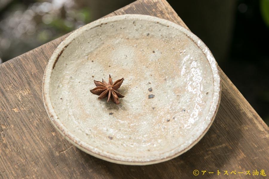 画像1: 工藤和彦 白樺ホワイト5寸皿