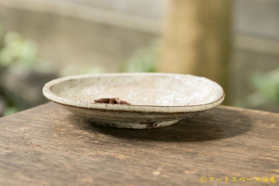 画像2: 工藤和彦 白樺ホワイト5寸皿