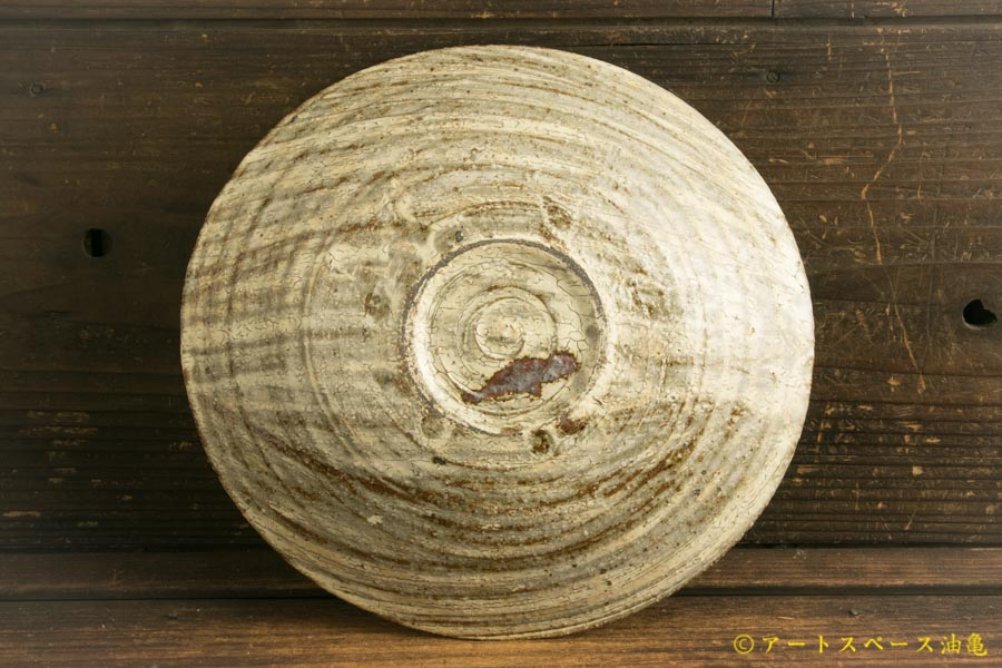 画像4: 工藤和彦「白樺刷毛目 たわみ8寸鉢」