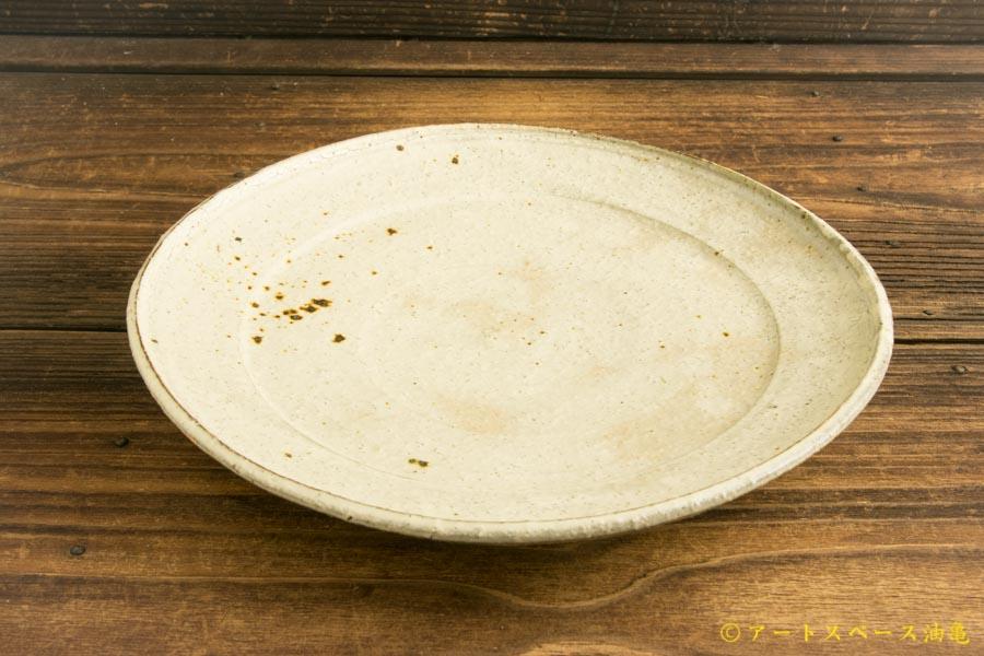 画像1: 工藤和彦「白樺ホワイト 8寸プレート皿」