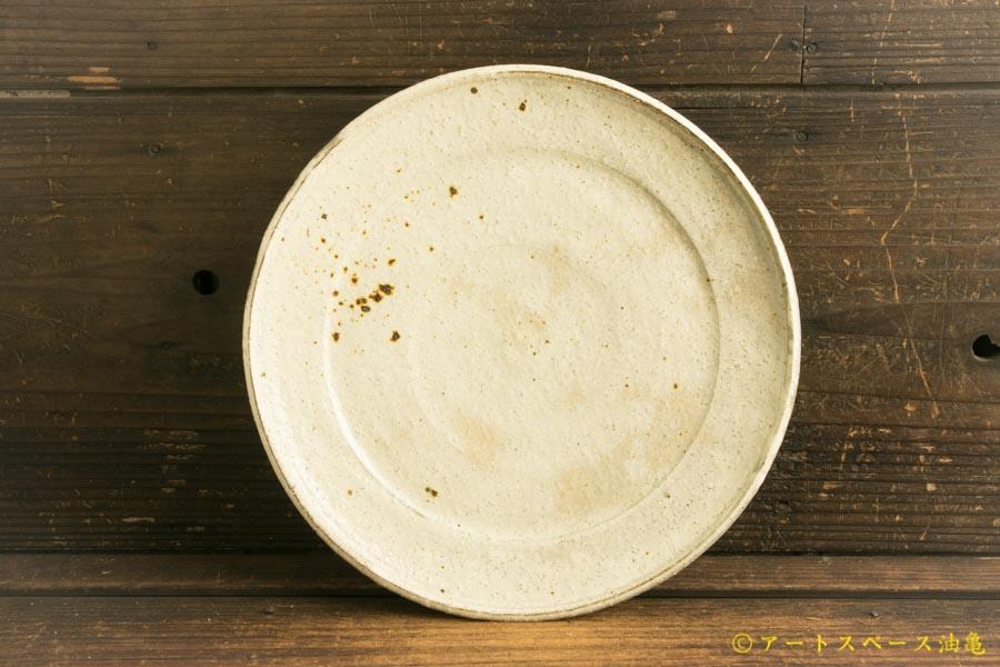 画像2: 工藤和彦「白樺ホワイト 8寸プレート皿」